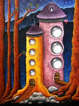 Tree House Towers by Nhoj  Yesdnil