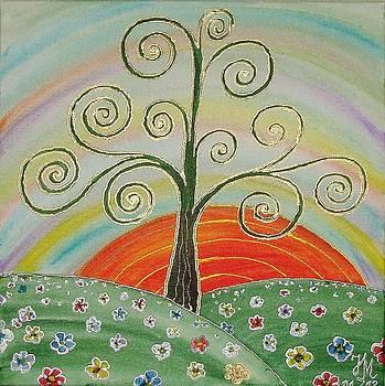 Tree of Happiness by Nina Mitkova