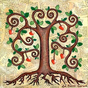 Tree of Hearts by Lisa Frances Judd