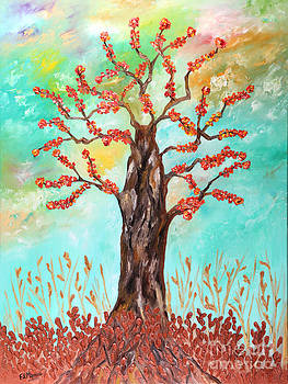 Tree of joy by Loredana Messina
