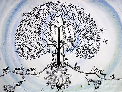Tree of life by Anjali Vaidya
