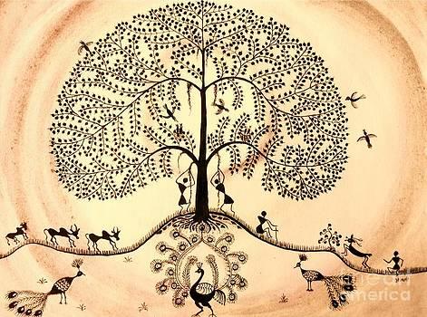 Tree of life II by Anjali Vaidya
