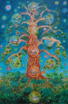 Tree Of Life  by Rosemary Allen