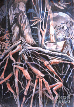 Tree Roots by Janet Felts