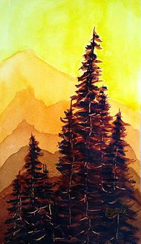 Tree Set by Catherine Jeffrey