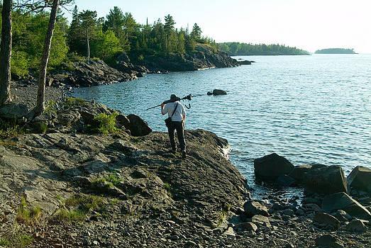 Devinder Sangha - Treeline at Lake Superior