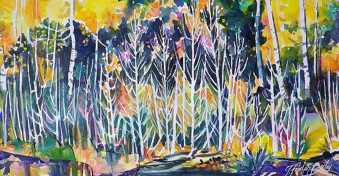 Trees Like Lace by Therese Fowler-Bailey