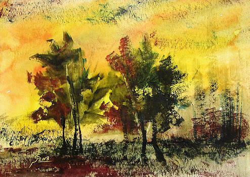 Trees by Reza Daliloltejari