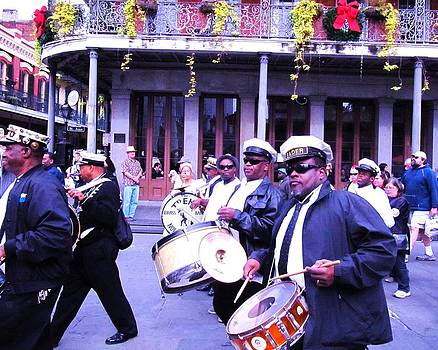 Treme Brass Band Parade by Debora PeaceSwirl DAngelo