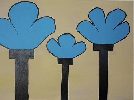 Tres Azules by Keith Newton
