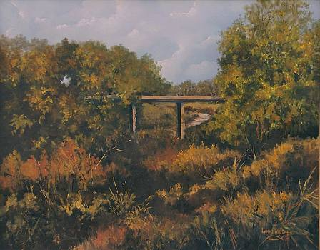 Trestle in the Trees by Lynne Wright