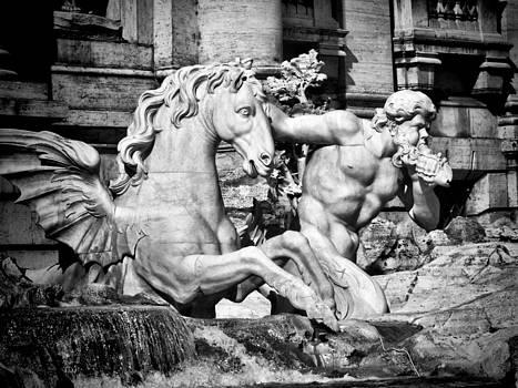 Trevi Sculpture  by Karen Lindale