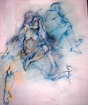 Tri Pose Male by Josie Taglienti