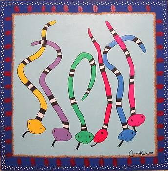 Tribal by Christal Kaple Art