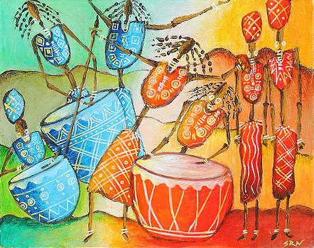 Tribal Dance by Sanjeev Nandan