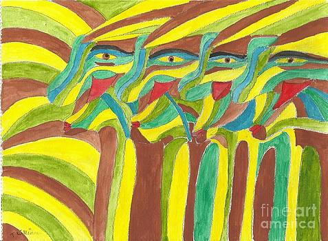 Tribal Gathering by Tracey Williams