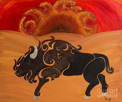 Tribal Rising by Minnie Lippiatt