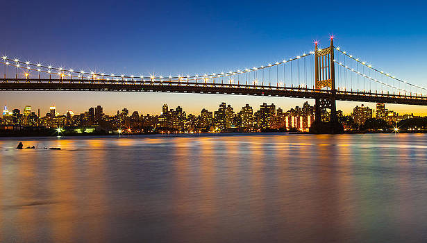 Triborough From Queens by Chris Halford