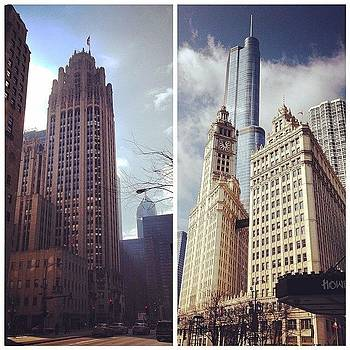 Tribune Tower, Wrigley Building And by Olivier Pasco
