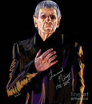 Tribute to Leonard Nimoy by Chelsea Perez