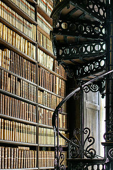 Trinity Collage Library Dublin by Dick Wood