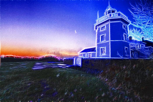 David French - Trinity House Lighthouse Fractals