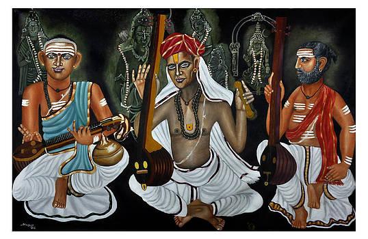 Trinity Of Indian Music by Sankaranarayanan