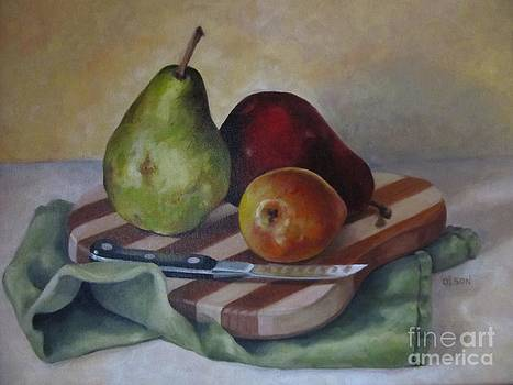 Trio of Pears by Karen Olson
