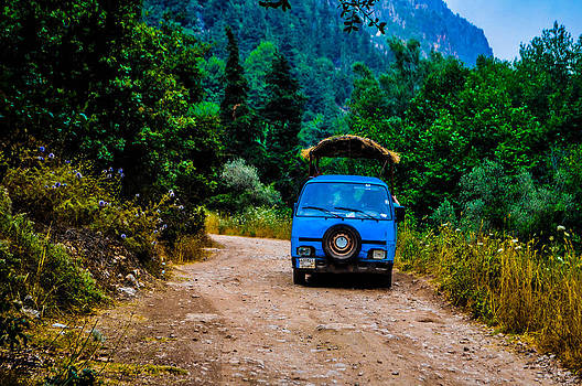 Trip With An Old Car by Ashour Anwer