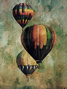 Triple Classic Balloons by Michelle Frizzell-Thompson