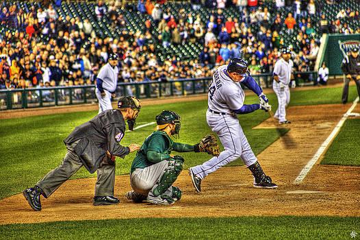 Triple Crown Winner Detroit Tigers Miguel Cabrera by A And N Art