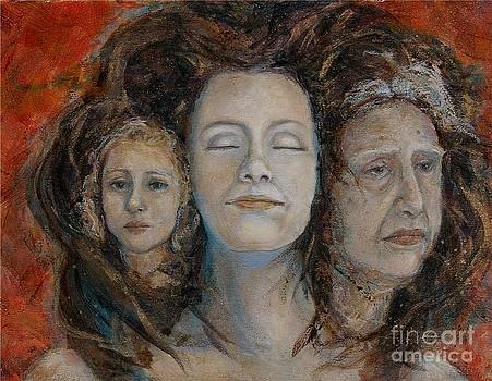 Triple Goddess by Maureen Girard