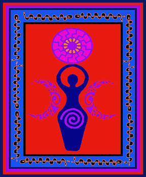 Triple Goddess by Vagabond Folk Art - Virginia Vivier