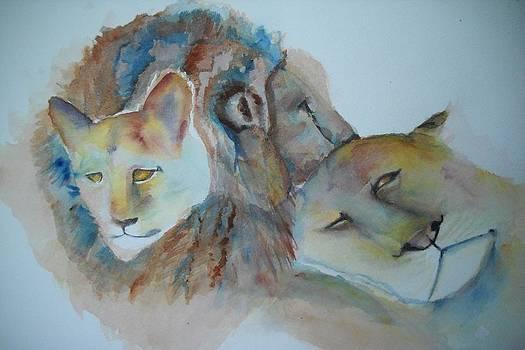 Marian Hebert - Triple Lions