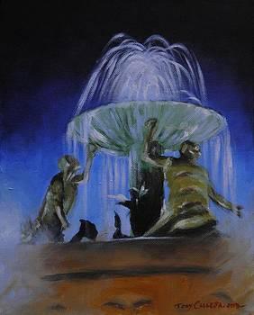 Triton Fountain by Tony Calleja