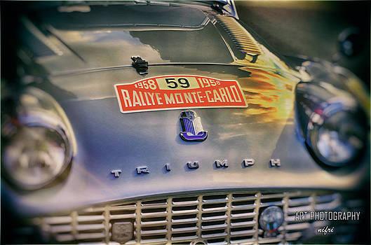 Nicole Frischlich - Triumph 1959 Rallye Monte Carlo TR3A