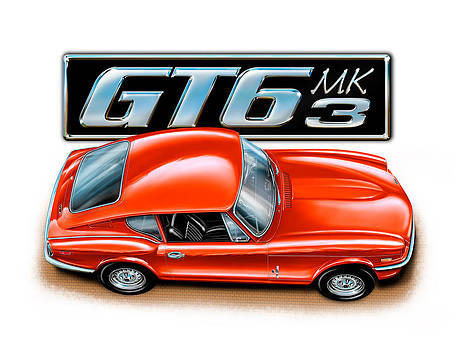 Triumph GT-6 Mark 3 Red by David Kyte