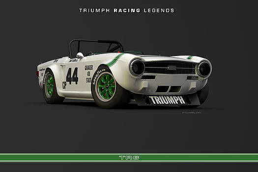 Triumph Racing Legends Group 44 TR6 by Pete Chadwell