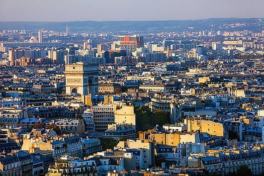 Triumphant Arc Over Paris by Kirk Strickland