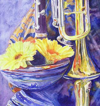 Jenny Armitage - Triumphant Daisies
