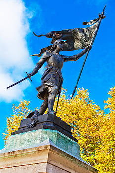 Triumphant Joan of Arc with Banner by Kirk Strickland