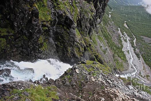 Trollstigen -Trolls Path - More og Romsdal county .Norway. by  Andrzej Goszcz