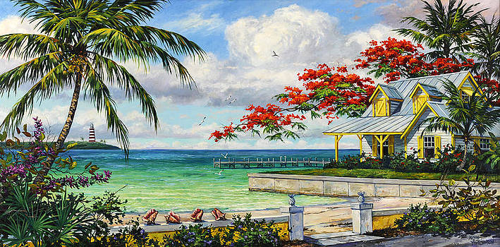 Tropic View by Kevin Hutchinson