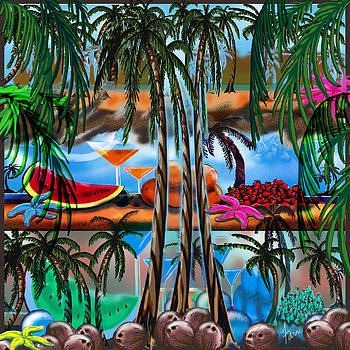 Tropica5 Coconuts by Steve Farr