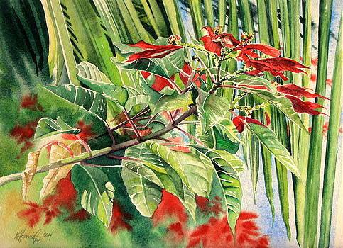 Tropical Christmas by Kitty Harvill
