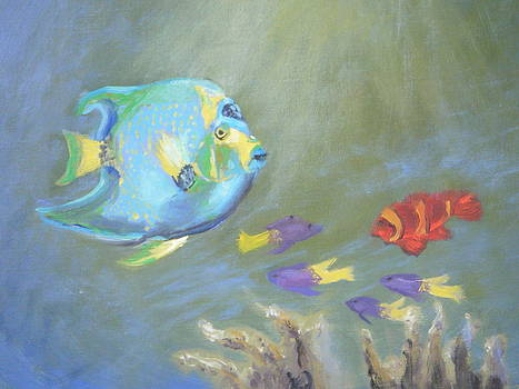 Tropical Fish by Patricia Kimsey Bollinger