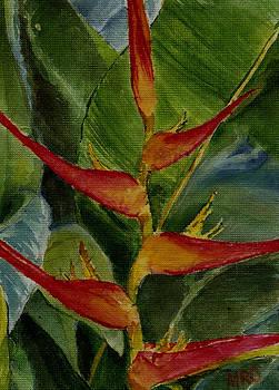Tropical Flower by Monishikha RoyChoudhury