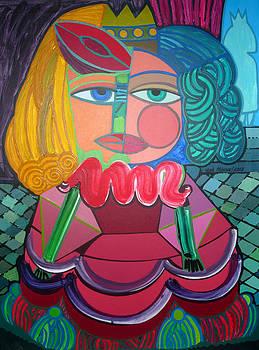 Tropical Menina by Jose Miguel Perez Hernandez