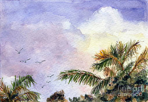 Tropical Morning by Suzanne Krueger