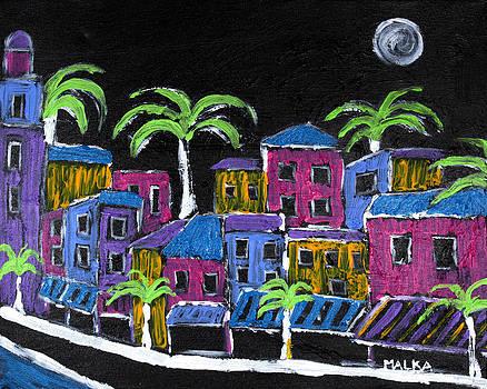 Tropical Nights by Marlene MALKA Harris
